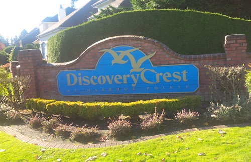 Discovery Crest Harbour Pointe Mukilteo Washington